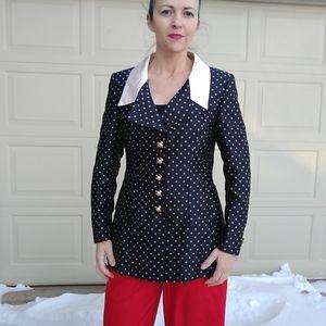 vintage ESCADA COUTURE blazer jacket S